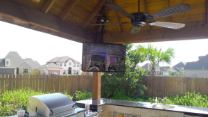 Outdoor Custom home theater